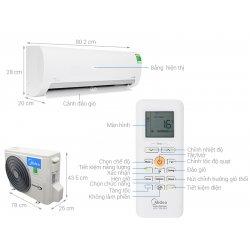 Máy lạnh Gree Inverter 1 HP GWC09WA-K3D9B7I